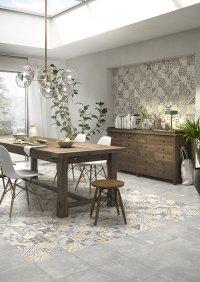 Cementina / Classic Grigio<br />Floor - Art. 8063/8091<br />Wall - Art. 8063