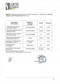 34x34 - Caratteristiche Tecniche EN 14411/ISO 13006-L - (3/3)