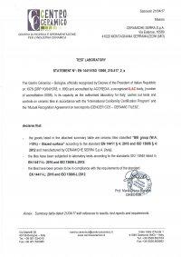 34x47,4 - Caratteristiche Tecniche EN 14411/ISO 13006-L - (1/3)