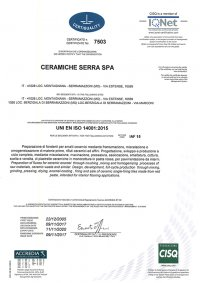ISO 14001 (1/2)