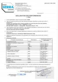 D.o.P. code 34348 FR