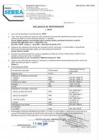 D.o.P. code 34347 RO
