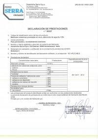 D.o.P. code 30307 ES