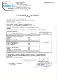 D.o.P. code 34347 FR