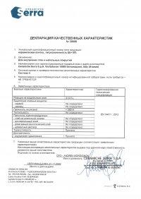 D.o.P. code 30608 RU
