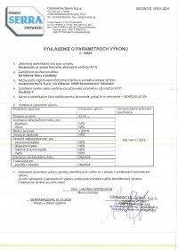 D.o.P. code 15608 SK